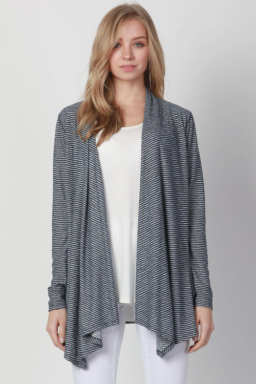 LINELIKE OUTSEAM CARDIGAN