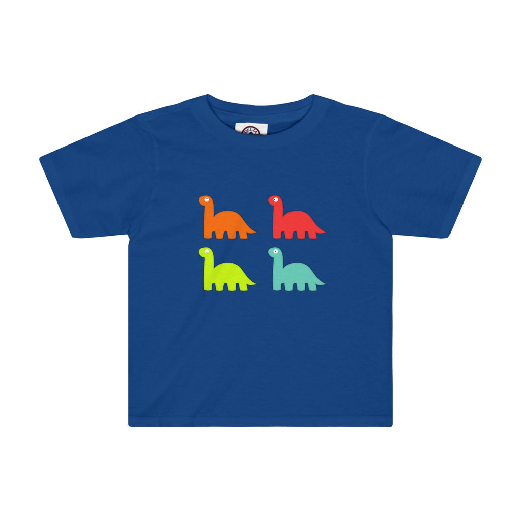 Toddler Tee: Colorful Dinos