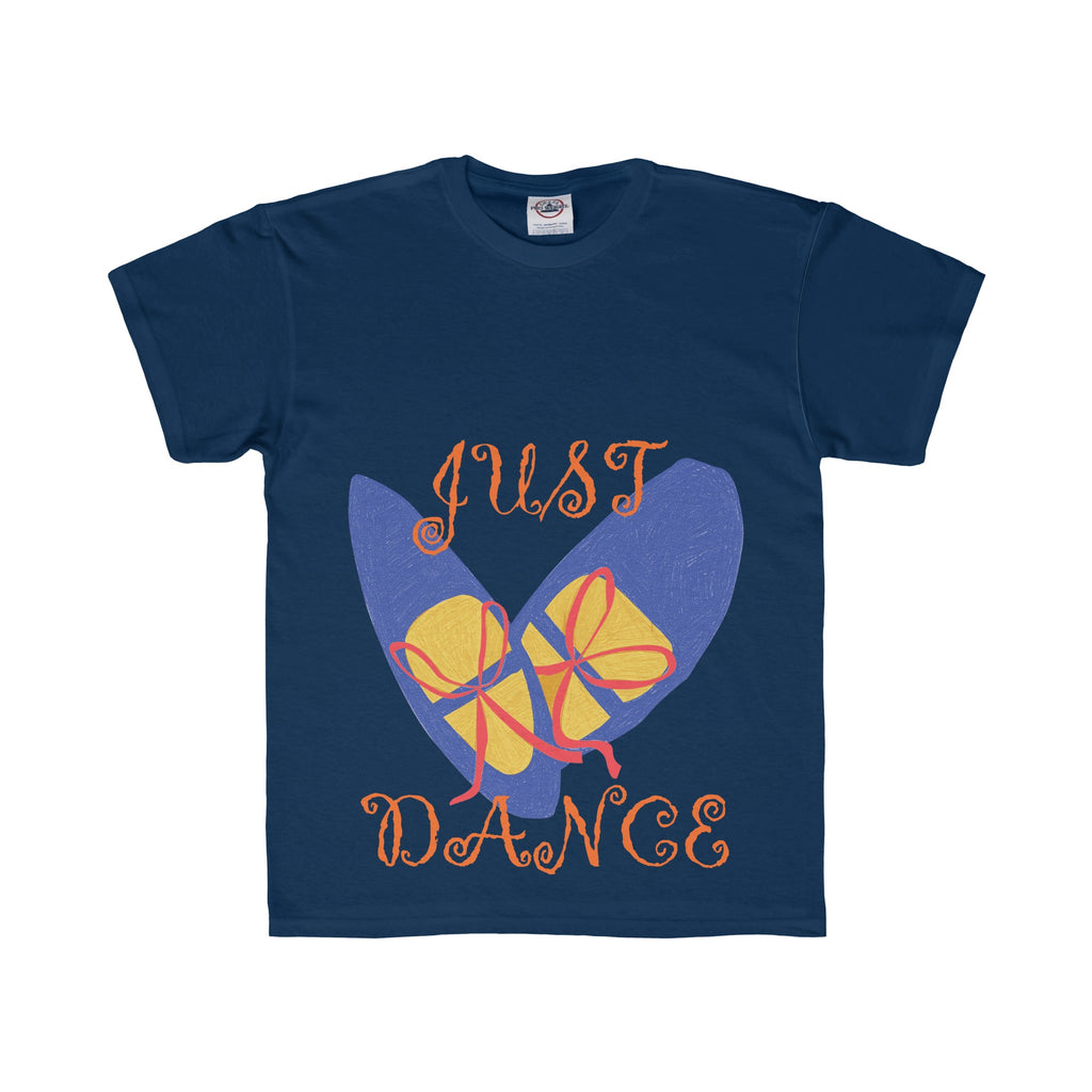 Youth Tee: Blue Dance Shoes