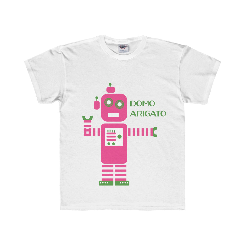 Youth Tee: Pink Robot