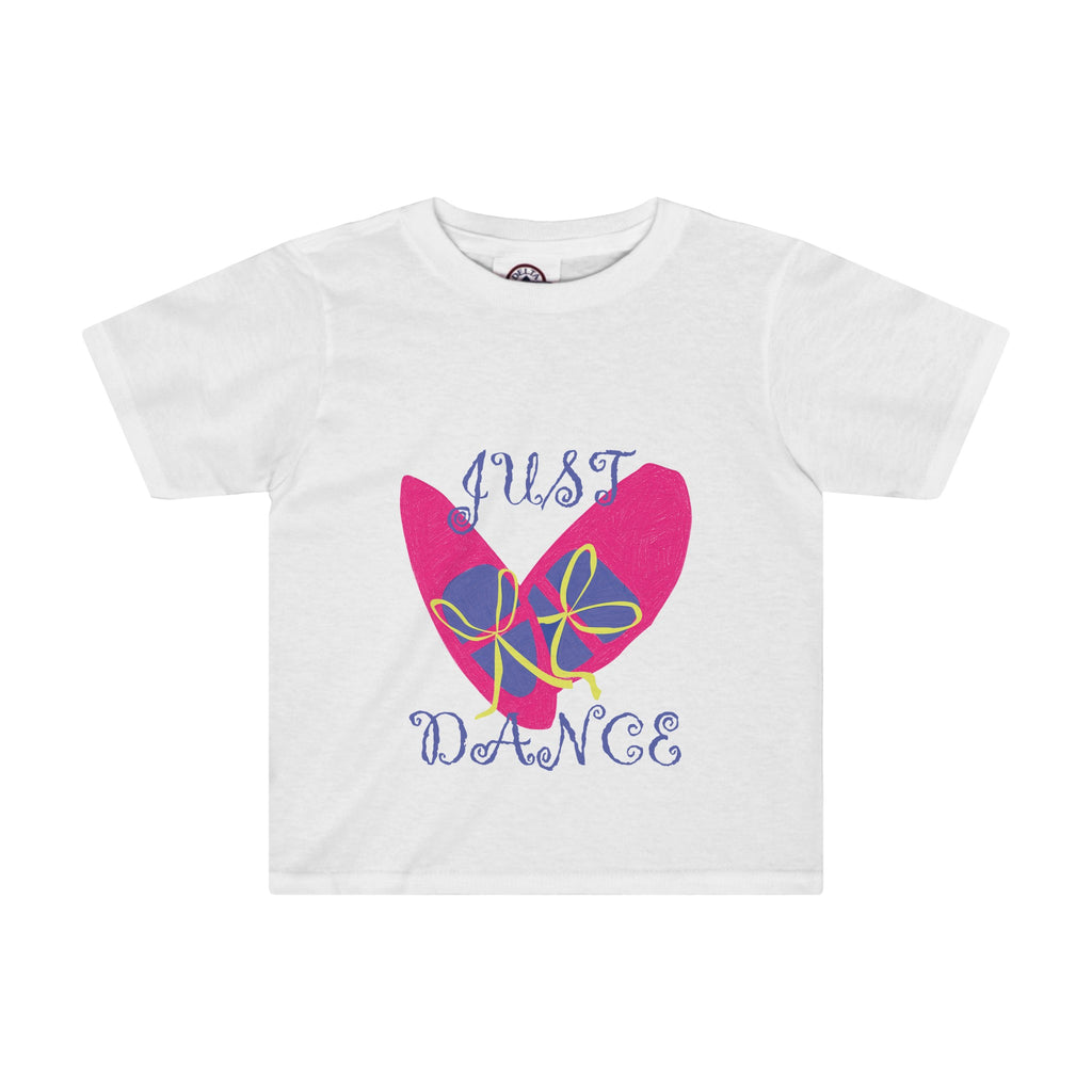 Toddler Tee: Pink Dance Shoes