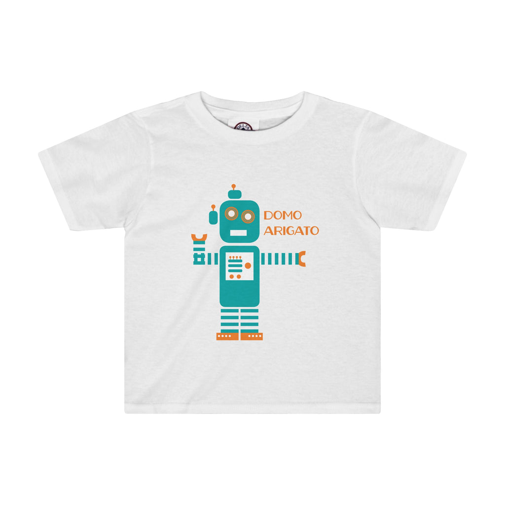 Toddler Tee: Teal Robot