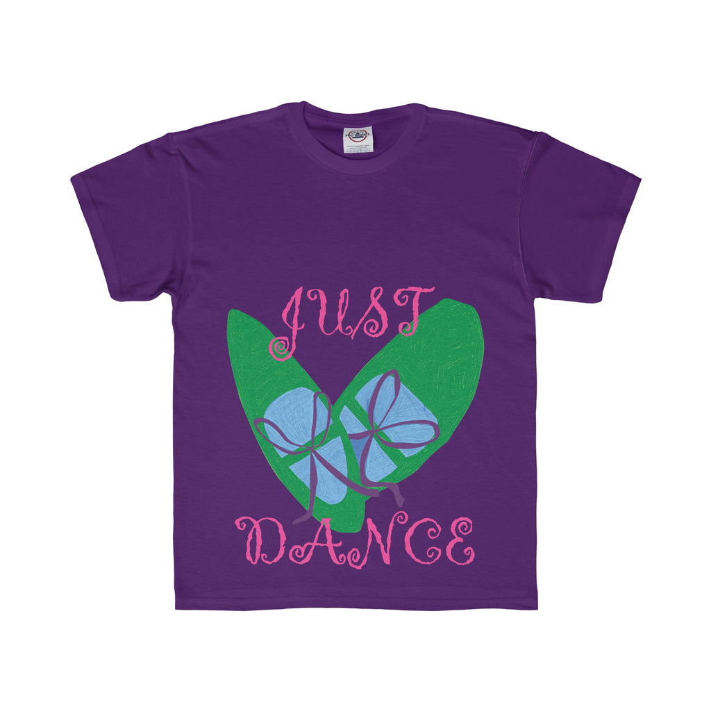 Youth Tee: Green Dance Shoes