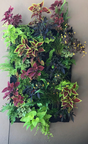 Fireside Collection Leafy Living Wall