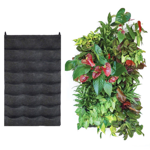 24 pocket felt vertical garden planter