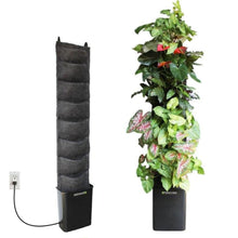8 pocket Indoor Compact vertical garden kit