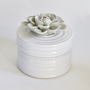 Ceramic Succulent Decor Item