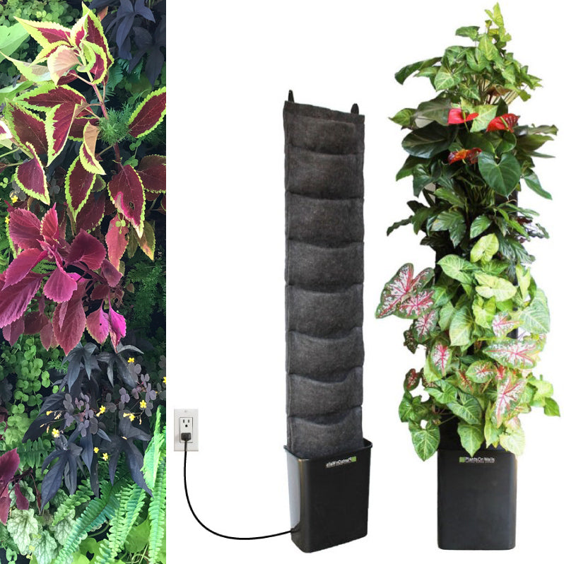 Fireside 8 pocket compact indoor planter