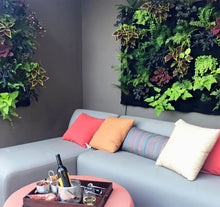Fireside Living Wall Planters in Patio Setting