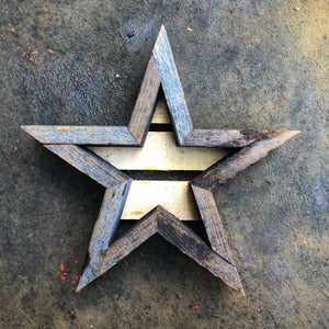 Star Frame Planter - Small