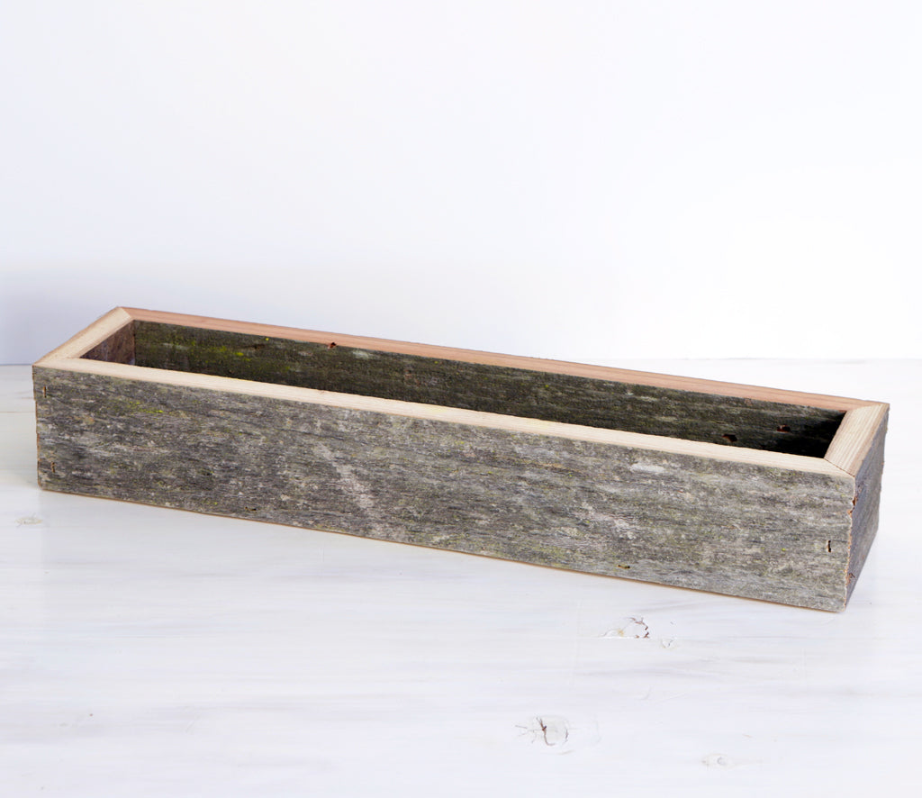 Succulent Box Planter - Large Rectangle
