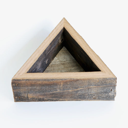 Succulent Box Planter - Medium Triangle