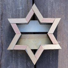 Reclaimed Redwood Small Star Frame