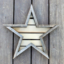 Reclaimed Redwood Star Frame - Medium