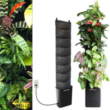 Tropical 8 pocket compact indoor planting kit