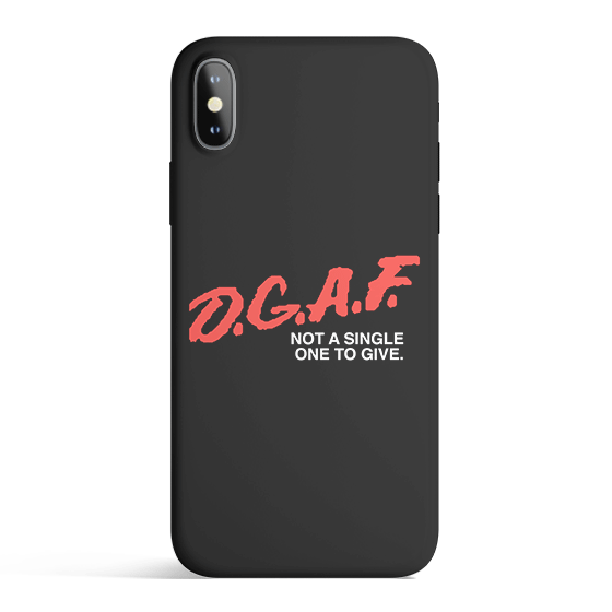 DGAF iPhone Case