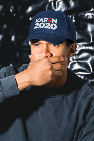 Karen 2020 - Classic Embroidered Dad Cap - Royal (PRE-ORDER)