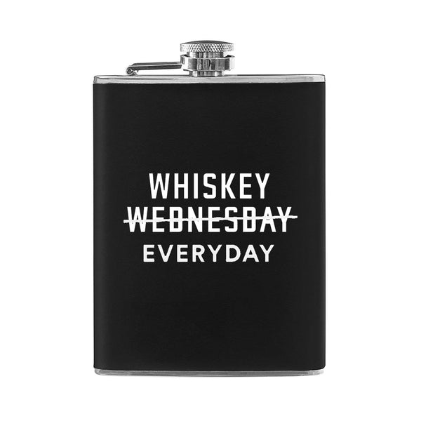 Whiskey Everyday 8 OZ. Flask
