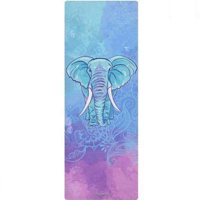 ELEPHANT DREAMS NATURAL RUBBER YOGA MAT - 3mm - Badass Yoga Gear