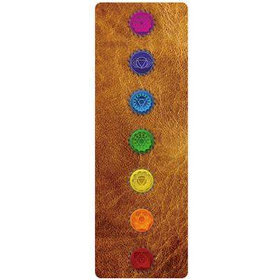 FOLDING CHAKRA YOGA MAT TOWEL - Badass Yoga Gear