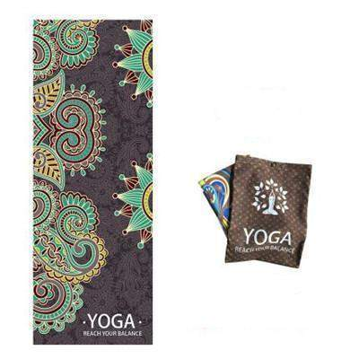 HEWOLF YOGA MAT TOWEL - Badass Yoga Gear