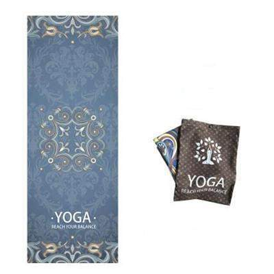 LOTUS MAT TOWEL - Badass Yoga Gear