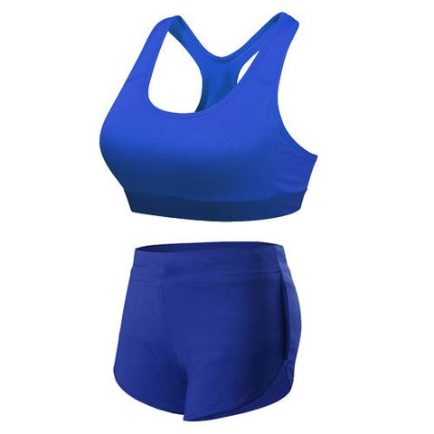 BLUE BREATHABLE SPORT SUIT - Badass Yoga Gear