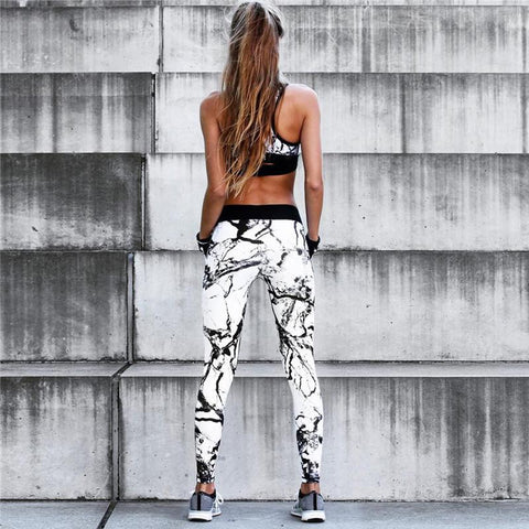 3D LIGHT GRAFFITI SPORT SUIT - Badass Yoga Gear