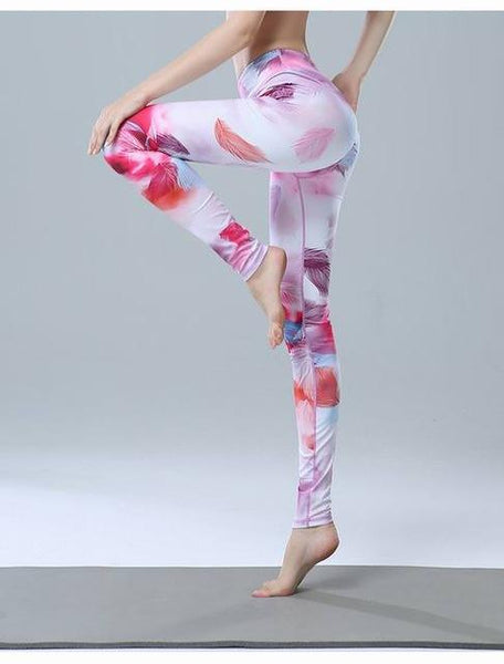 FULL-LENGTH WHISPY YOGA LEGGINGS - Badass Yoga Gear