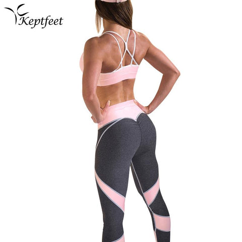 PINK & BLACK YOGA SPORT SET - Badass Yoga Gear