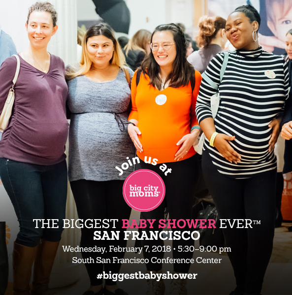The Biggest Baby Shower Ever - Big City Moms Event