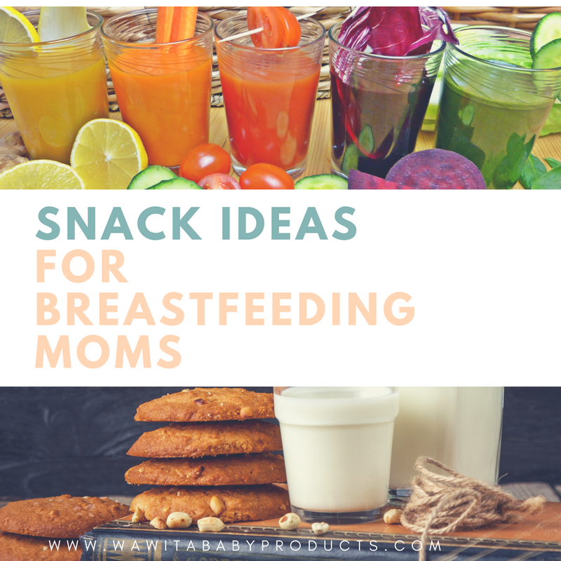 Snack Ideas and Recipes for Breastfeeding Mothers