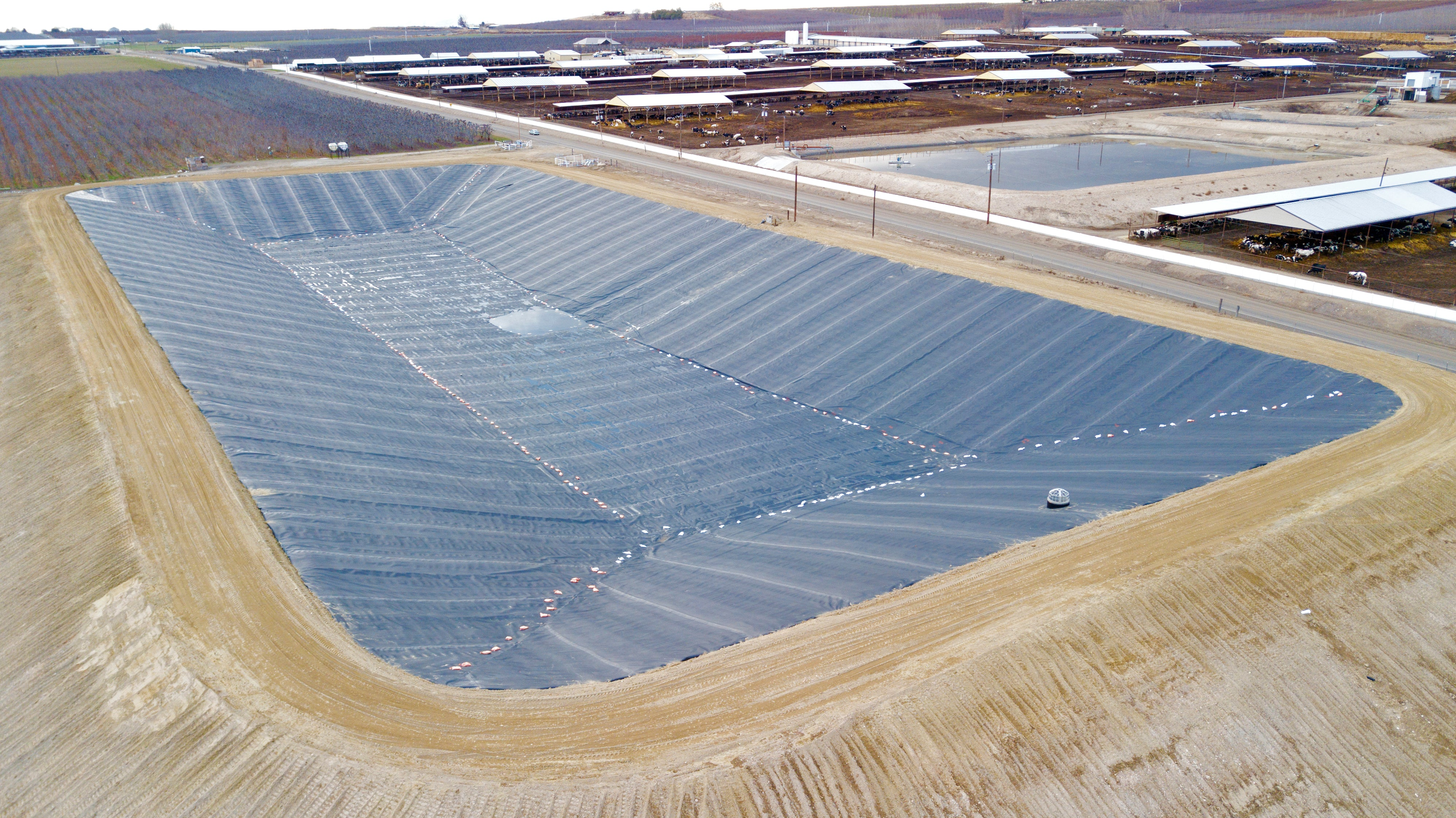 pond liners geotextiles