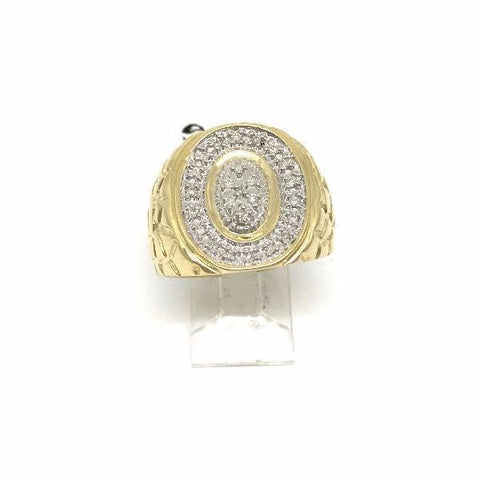Bague en or 10k ALEX 0.21ct diamond A14530AR - OR QUEBEC