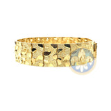10K 17MM Bracelet Nugget MB-016 - OR QUEBEC