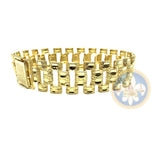 10K 16MM Bracelet Rolly MB-005 - OR QUEBEC