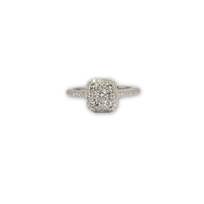 14K Mariella Bague avec Diamants de CT DRG-060 - OR QUEBEC