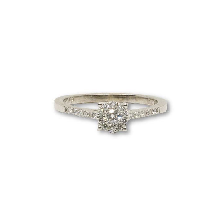 14k Femme Bague Diamants de 0.30CT DRG-068 - OR QUEBEC