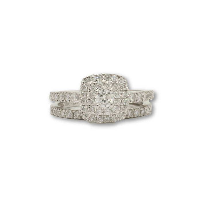 10k Femme 2 pc Bague Diamants de 1.00CT DRG-076 - OR QUEBEC