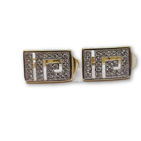 10K Or Jaune Boucle d'oreille Stud Antheia GE-026 - OR QUEBEC