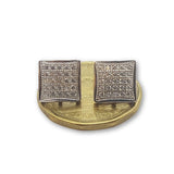 10K Or Jaune Boucle d'oreille Stud Clotho GE-039 - OR QUEBEC
