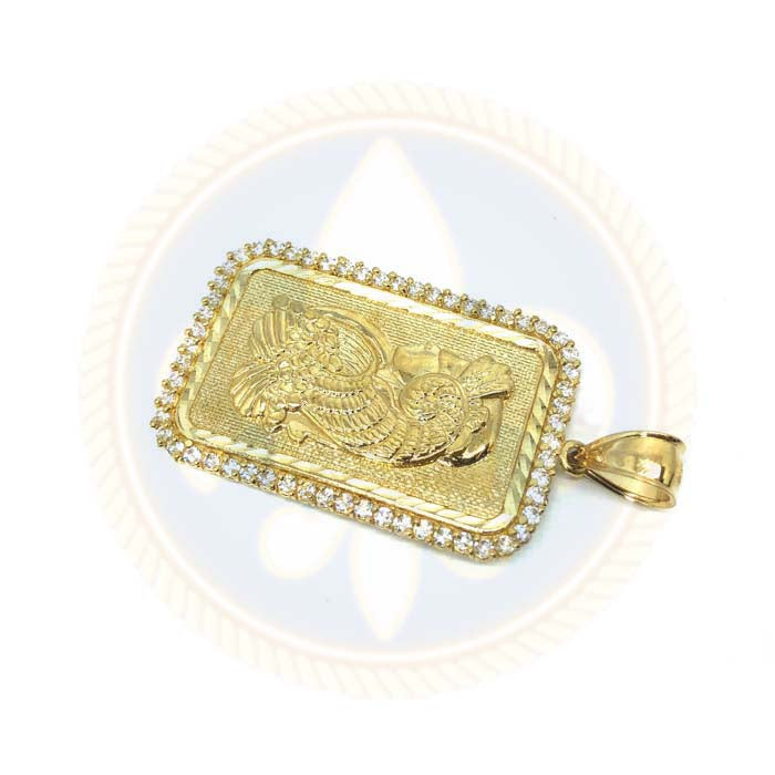 Pendentif or Jaune 10K Lady Fortuna LFG-006 - OR QUEBEC