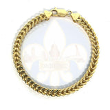 10k 6MM 9IN Franco Bracelet MBG-033 - OR QUEBEC