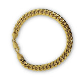 Miami Cuban Link en or 10K 7mm Italien MBG-058 - OR QUEBEC
