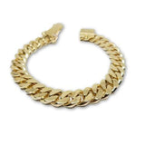 Miami Cuban Link Solid remplie en or 10k Solid Remplie MBG-072 - OR QUEBEC