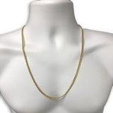 10k 4.5MM 26IN Cuban Link Ensemble Collier MGC-015 - OR QUEBEC