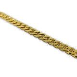 Miami Cuban Link 9mm en or jaune 10 karat MGC-074 - OR QUEBEC