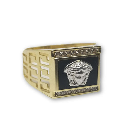 10K Or Jaune Bague Versace Homme MGR_119 - OR QUEBEC