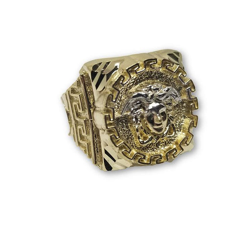 10K Or Jaune Bague Versace Homme MGR_117 - OR QUEBEC