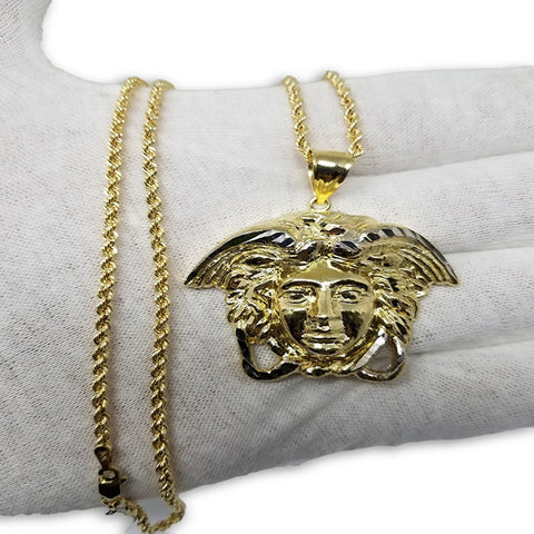 collier versace or homme